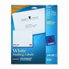 Avery 3 1 3 X 4 Template 8164 Shipping Labels With Trueblock Technology 3 1 3 X 4 250 Pack