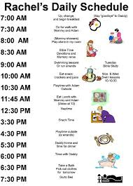 Daily Routine Chart For 5 Year Old 69 Exact Daily Routine Schedule For Students