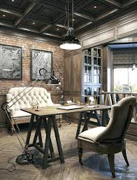vintage office decorating ideas. Vintage Home Office Decor Industrial Idea Modern Ideas In Style Decorating