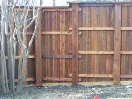 Boxed Post Fence Inspiration Photos Texas Best Fence