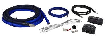 wiring kit for kicker amp wiring diagram kicker pkd1 1 0 awg gauge dual car amp installation wire kit