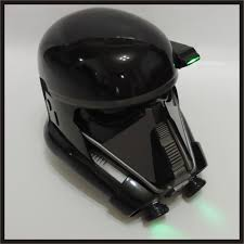 custom made star wars rogue 1 death trooper sniper helmet
