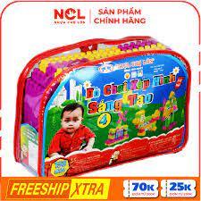 Nhựa Chợ Lớn] Đồ chơi xếp hình trẻ em 04 - M986-LR4