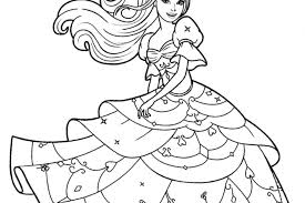 Barbie Mermaid Colouring Pages Doll Color Car Coloring Sheets Free