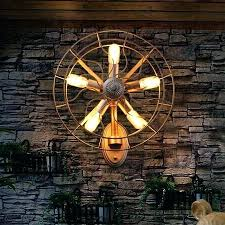 industrial home lighting. Industrial Wall Mount Light Novelty Retro Loft Vintage Old Fan Lamp Sconces Home Lighting