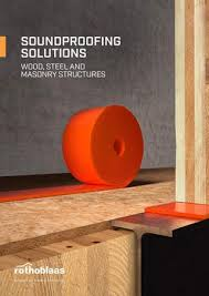soundproofing solutions wood steel and masonry structures