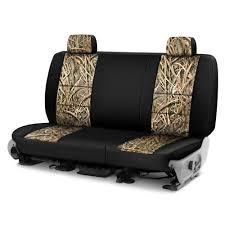 coverking mossy oak 2nd row two tone shadow grass blades custom seat