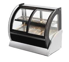 vollrath 40881 48 curved refrigerated cabinet