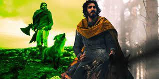 Die Drehorte des Green Knight-Films ...