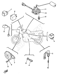 1972 Yamaha 125 Electrical Diagrams