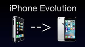 evolution of iphone evolution of iphone iphone 2g to iphone 6s youtube