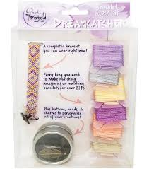 pretty twisted bracelet diy kit dreamcatcher