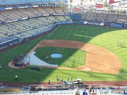 Dodger Stadium Seating Chart Infield Reserve Dodger Stadium Section 14rs Home Of Los Angeles Dodgers