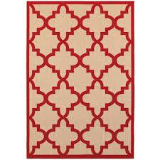 oriental weavers cayman 660r9 sand red area rug