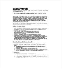 Marketing Planner Excel 14 Music Marketing Plan Templates Doc Pdf Free Premium Templates