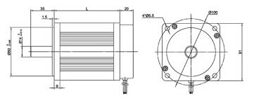 90mm brushless dc motor 8 poles wiring diagram