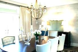 chandelier size for dining room table height correct dinin