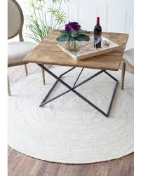 round jute rug 8 havenside home la jolla eco natural fiber braided reversible jute area rug round jute rug