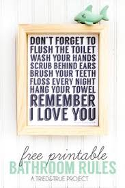42 best Free Printables • Bathrooms images on Pinterest | Little ...