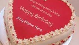 Birthday Cake Images With Name Editor Online Free The Galleries