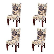 image unavailable image not available for color jiuhong stretch removable washable short dining chair protector cover