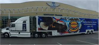 ooida s new spirit tour truck trailer