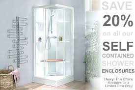 shower cubicles self contained. Plain Self Self Contained Shower Cubicle Best Units Gallery The  Bathroom Ideas Electric Cubicles Intended S
