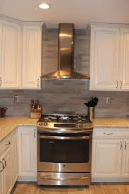 Renovated Kitchen Renovated Kitchen With Subway Tile Backsplash Stainless Steel