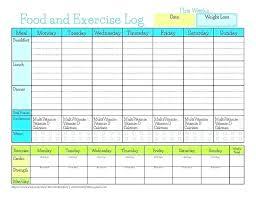free printable running log running journal template
