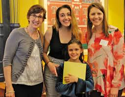 eaton student among winners of essay contest imploring young  grace thornton a fourth grader at eaton elementary won first place in the annual essay contest in her age group she s pictured from left
