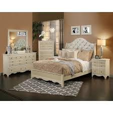Sandberg Furniture Marilyn 4 Piece Bedroom Set