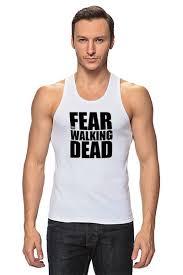 Майка классическая <b>Fear</b> the Walking Dead #1200953 по цене ...