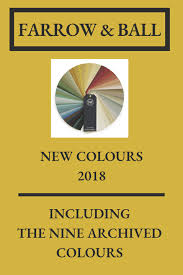 Farrow And Ball New And Archived Colours 2018 Female