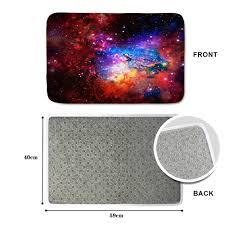 back door rug elegant hugsidea fashion space stars galaxy carpet funny flannel area rugs