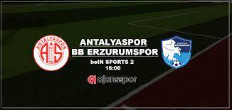 Antalyaspor BB Erzurumspor maçı canlı izle | Bein Sports 2 şifresiz yayın