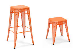 tolix tall stackable tabouret counter stools and barstools