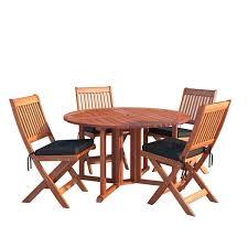 corliving outdoor folding dining set