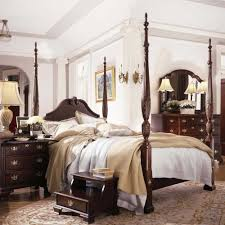 Queen Anne Bedroom Furniture Carriage House Queen Carved Panel Rice Bed By Kincaid Furniture