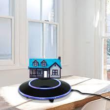 amazoncom magnetic floating platform led maglev rotating levitation ion  revolution platform display showcase gift with ez float technology for home
