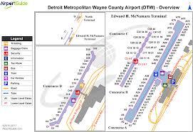 detroit  detroit metropolitan wayne county (dtw) airport terminal