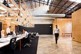 office and warehouse space. fine warehouse unit b4 by make hides a contemporary wooden office within an industrial  shell in and warehouse space i