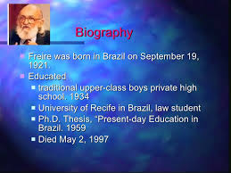 powerpoint biography paulo freire powerpoint presentation