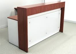 office reception counter. Office Reception Area Furniture Counter Custom Dental Waiting Room