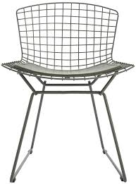 bertoia style chair. Harry Bertoia Style   Wire Dining Side Chair Coloured H