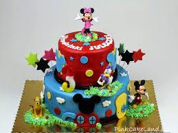 Mickey Mouse Clubhouse Birthday Cake Fomanda Gasa