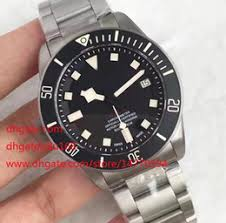 left handed watches online left handed watches for mens luxury top quality zf factory 1 1 maker 25610tnl titanium lhd left handed special watch movement automatic mens watches