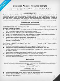 It Business Analyst Resume Musiccityspiritsandcocktail Com