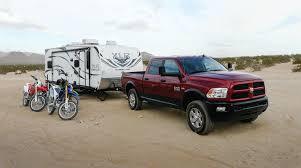 ram and hyper lite xlr trailer in desert