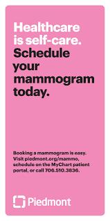Piedmont My Chart Login Schedule For Mammogram In Ellijay Ga Medical Care