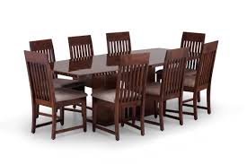 Wood Dining Table Set Lavish Dining Table Set Wood Dining Table Set Ekbote Furniture